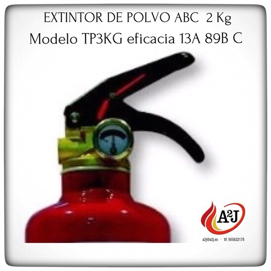 distribución de extintores en Sevilla sin coste la entrega.
