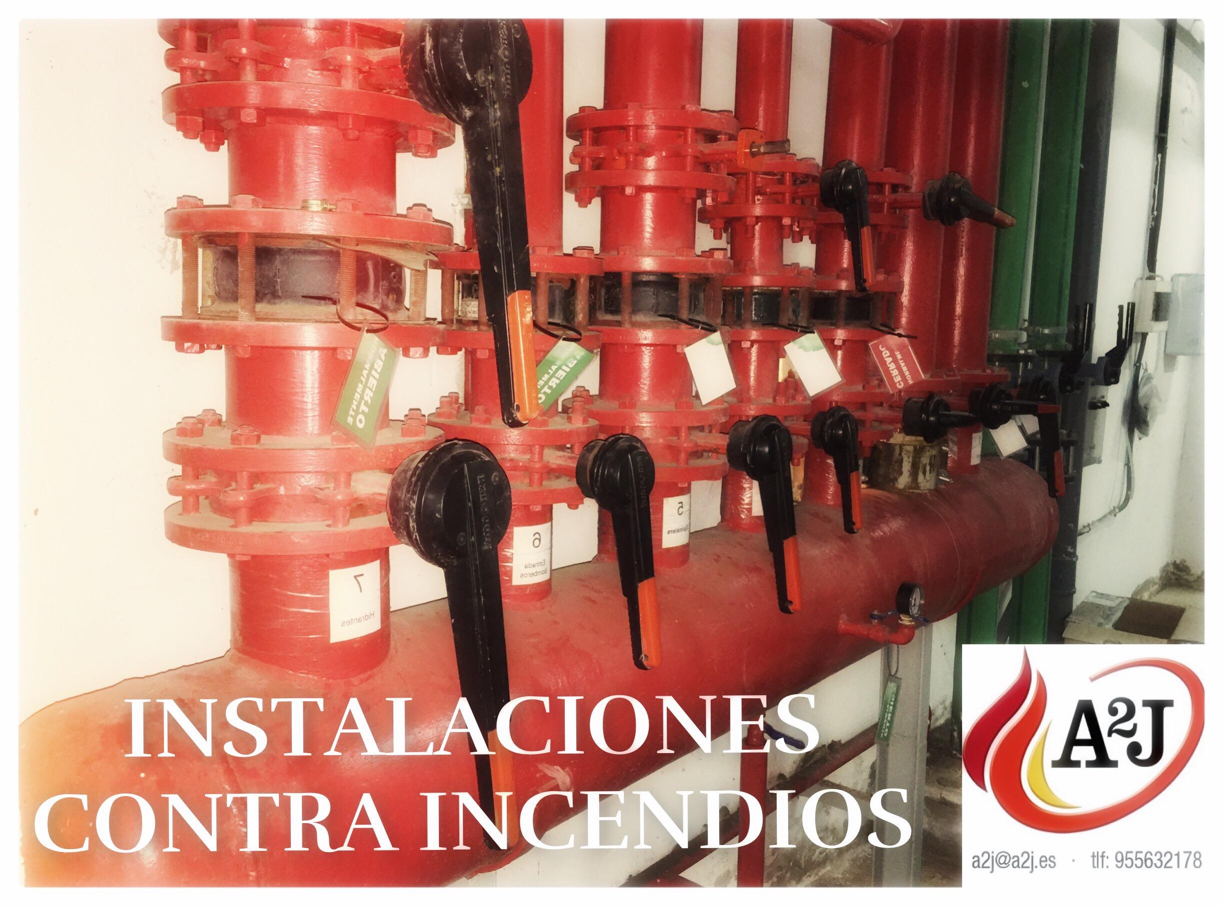 instalaciones contra incendios  en Sevilla