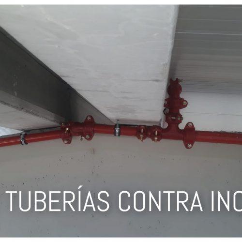 Instalaciones contra incendios / Red de tuberías de agua para Bies 25 mm 20 m