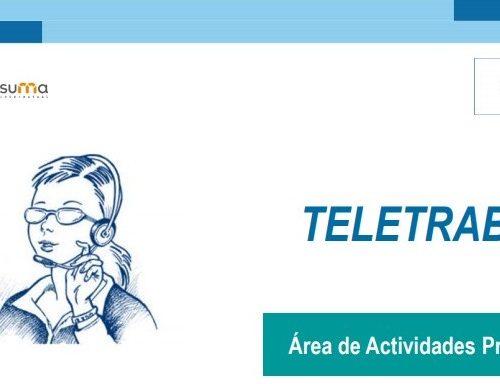 CONSEJOS A2J: Prevención en el teletrabajo